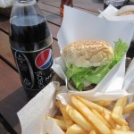"Burger and Fries and Pepsi ""Nex"""