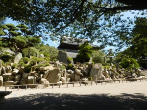 This is the most cluttered looking rock garden in Japan.